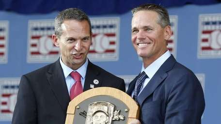 National Baseball Hall of Fame inductee Craig Biggio,