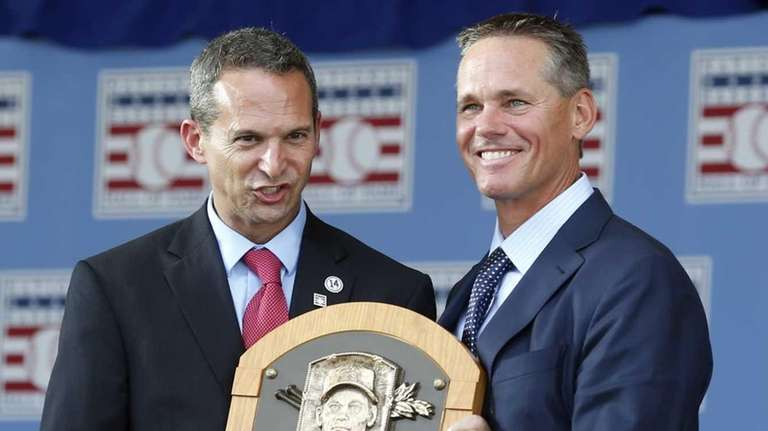 National Baseball Hall of Fame inductee Craig Biggio,