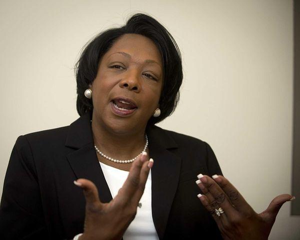 Roosevelt School District Superintendent Dr. Deborah Wortham visits