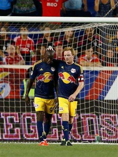New York Red Bulls forward Bradley Wright-Phillips (99)
