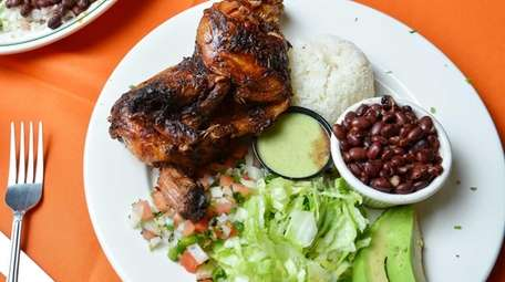Peruvian rotisserie chicken, a favorite at the former