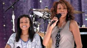 Whitney Houston sings with daughter Bobbi Kristina Brown