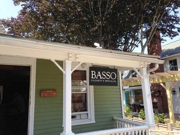 Basso Cicchetti e Specialita is open in Greenport.
