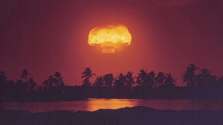Image of an Atomic Test, from PBS's