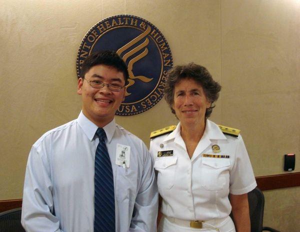 David Li, a Commack High School student, traveled