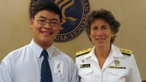 David Li, a Commack High School student, traveled