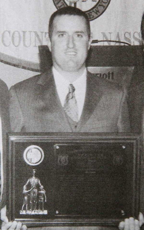 Nassau Police Lt. William Ward is seen in