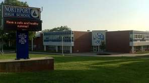 Northport High School, part of the Northport-East Northport