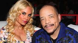 Coco and Ice-T, seen here at the ESPN