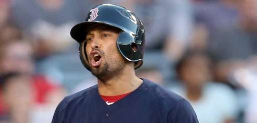 Shane Victorino #18 of the Boston Red Sox
