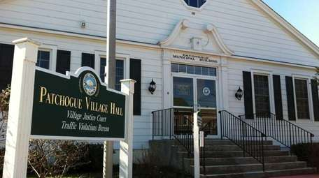 Patchogue Village Hall is shown in 2012.