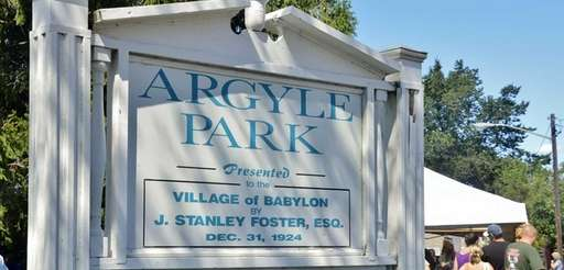 Argyle Park in Babylon Village on Sept. 9,