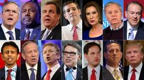 The 2016 Republican presidential field is jam-packed. This