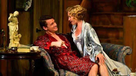 Henry Clarke and Rachel Pickup play naughty in
