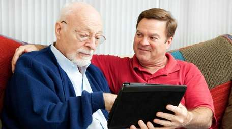 Tablets can be easier to use for older