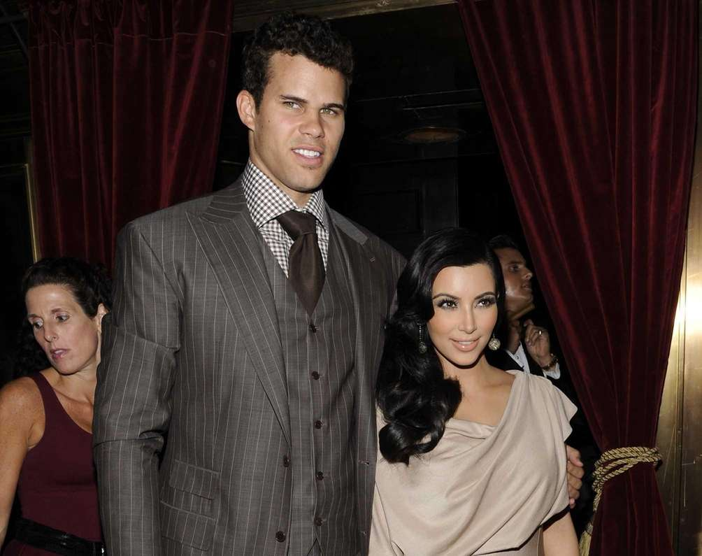Kim Kardashian and NBA player Kris Humphries married