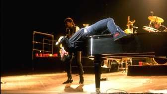 Billy Joel performs during his