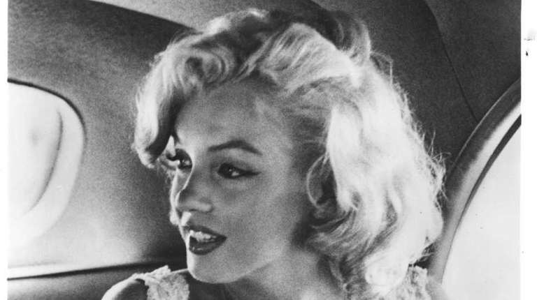 Marilyn Monroe when she came to New York