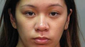 Stephanie A. Amit, 25, of Elmont, was arrested