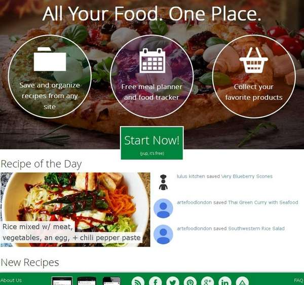 SITE spoonacular.com, plus free apps for iTunes, Android