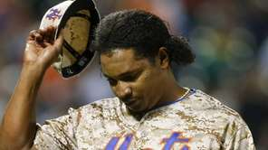 Jenrry Mejia #58 of the New York Mets