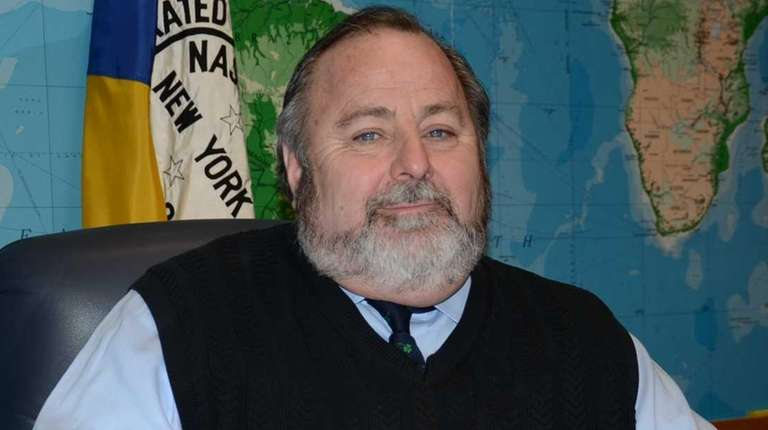 Rockville Centre Mayor Francis X. Murray, seen here