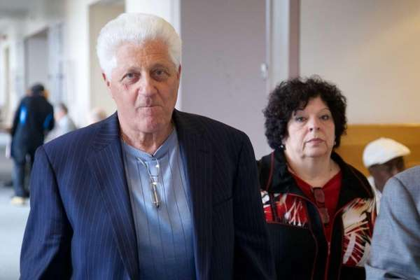 Thomas Datre Sr. and his wife, Clara, leave