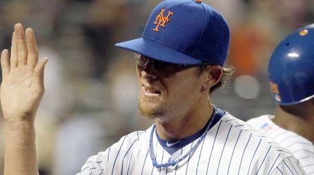 New York Mets relief pitcher Tyler Clippard (46)