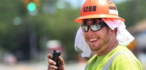 Construction worker Carmine Notaro, of Shirley, drank lots
