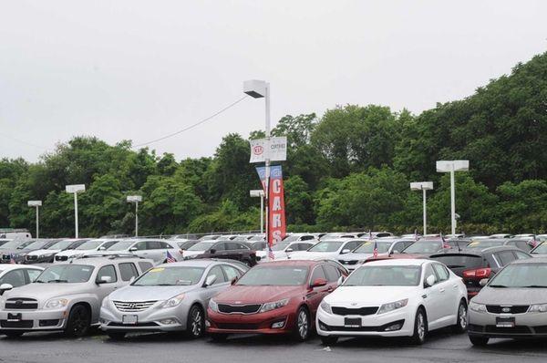 The Kia auto dealership, at 4825 Sunrise Hwy.,