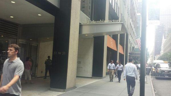 A man stabbed a medical worker at ColumbiaDoctors