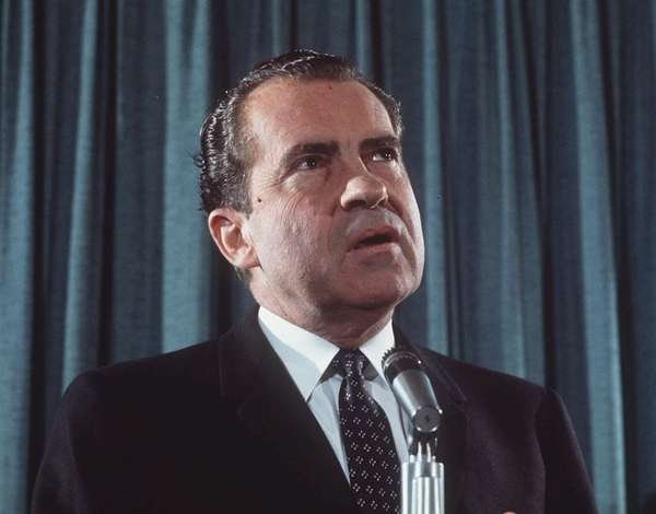 Richard M. Nixon, the 37th President of the