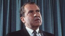 Richard M. Nixon, the 37th President of the