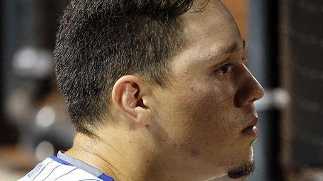 New York Mets shortstop Wilmer Flores in the