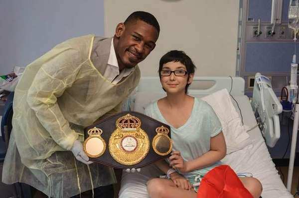 Danny Jacobs, a world champion boxer from Brooklyn