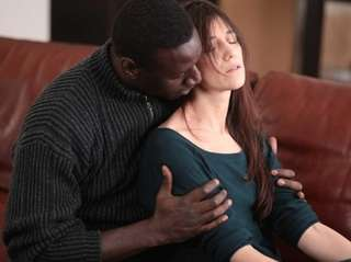 Still of Charlotte Gainsbourg and Omar Sy in