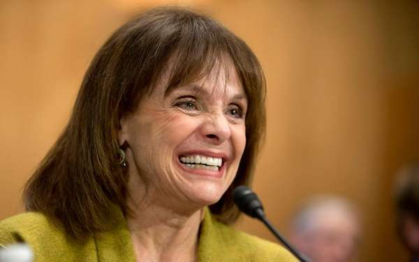 Actress and cancer survivor Valerie Harper, testifies before