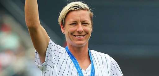 Abby Wambach, a member of the 2015 Women's