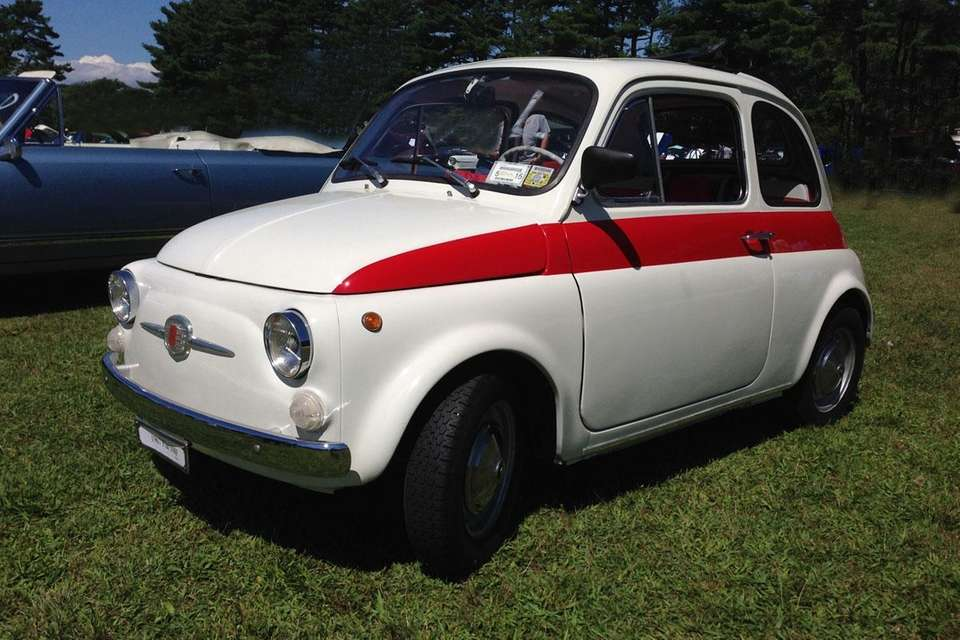 This 1967 Fiat 500 owned by Joseph LaSorsa