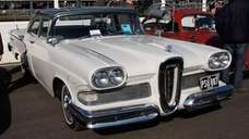 A 1958 Edsel Ranger 4-Door Sedan.