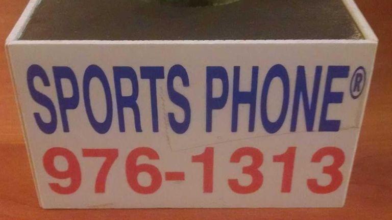 Sports Phone mic flag.