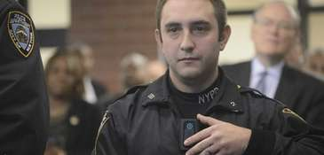 A New York City Police Department police officer