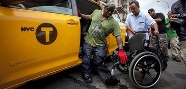 Dustin Jones of Bronx, 27, a disability advocate
