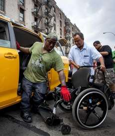 Dustin Jones of Bronx, 27, a disability advocate