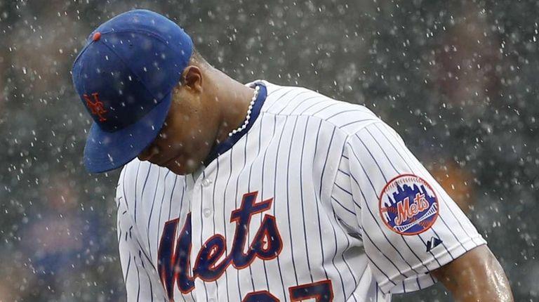 New York Mets relief pitcher Jeurys Familia (27)