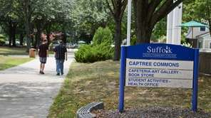Captree Commons on the Selden campus of Suffolk