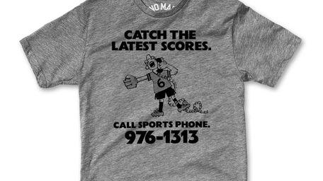 A Sports Phone T-shirt.