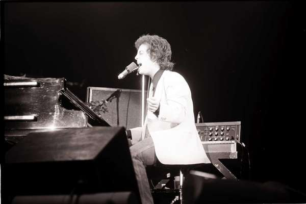 Billy Joel performs during
