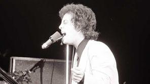 Billy Joel performs during
