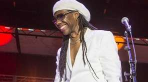 Nile Rodgers (pictured) and his band Chic are